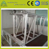 Armature en aluminium de broche de matériel en gros de Satge d'exportation