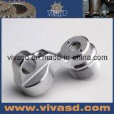 Части CNC алюминия точности высокого качества подвергая механической обработке поворачивая