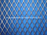 Engranzamento de fio expandido revestido PVC do metal
