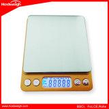 Küche-Schuppe LCD-Digital 5kg x 1g Gewicht-Nahrungsmitteldiät
