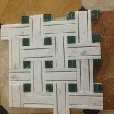 Плитка пола мозаики смешанного цвета строительного материала естественная мраморный каменная