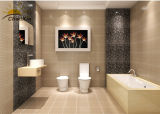 Mattonelle di ceramica dell'interno impermeabili, mattonelle resistenti alla corrosione della stanza da bagno della porcellana