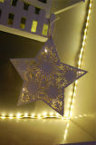 Los más vendidos LED luz de la batería de la tabla de Navidad decorativos de luz