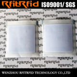 13.56MHz etiqueta adhesiva de encargo tamaño pequeño del papel brillante NFC