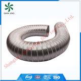 Conducto flexible de aluminio puro semirrígido resistente al fuego
