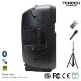 15 Zoll Plastikim freienActive PA-Lautsprecher-Kasten-mit Batterie