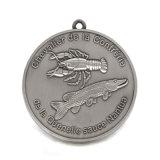 Medaglia d'argento antica del metallo dello smalto per il regalo