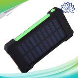 Батареи крена 20000mAh силы перемещения USB крена солнечной силы пакет Bateria Externa заряжателя двойной внешней портативный для мобильного телефона