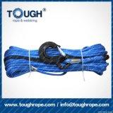 Blaue elektrische Seil-Handkurbel der Farben-7.5mmx28m Uhwmpe