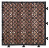 Facile installare le mattonelle composite di Decking di 300X300mm WPC