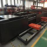 Máquina de estaca do laser da fibra do CNC usada para o aço do silicone