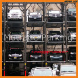 Хранение автомобиля системы Mutil стоянкы автомобилей штабелеукладчика автомобиля Mutrade автомобилей ровное