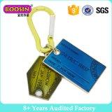Kundenspezifischer preiswerter Metallfirmenzeichen-Marken-Charme Keychain