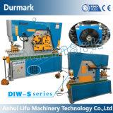 Máquina do trabalhador do ferro de Q35y, Ironworker hidráulico, máquina de perfuração do furo