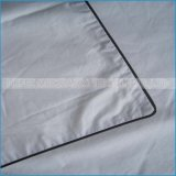 La pianura ha colorato il coperchio bianco stampato del cuscino del poliestere da vendere