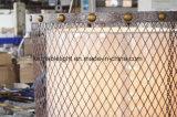 Lâmpada de assoalho de madeira moderna do tripé do ferro para a HOME (F2034)