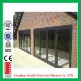 Precio de fábrica Bifold de aluminio de la puerta del estilo europeo (HT-YY25)