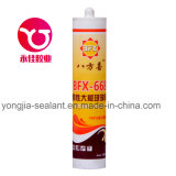 Adesivo da classe elevada/vedador de vidro grandes acéticos do silicone (BFX-668)