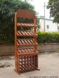 Реальное изображение шкафа бутылки вина продукта фабрики деревянного