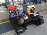 Motor de Hydrulic que transporta o carro com o chassi de borracha da trilha