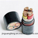 o PVC 0.6/1kv isolou o cabo distribuidor de corrente Flame-Retardant Sheathed PVC