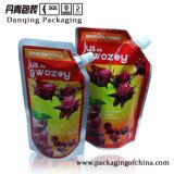 Getränk-Beutel mit der Tülle, die, verpackendes Weiche, Saft-Verpacken verpackt