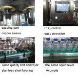 Линия машины завалки питьевой воды автоматической бутылки любимчика минеральная чисто