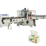 Machine de conditionnement en plastique de tissu facial d'emballage