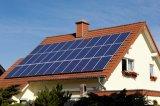 Подгонянная крышей энергетическая система 1kw панели солнечных батарей к 50kw