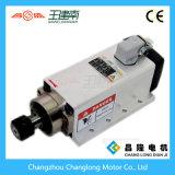 motore ad alta frequenza dell'asse di rotazione raffreddato aria 2.2kw con la flangia per la macchina per incidere di falegnameria di CNC