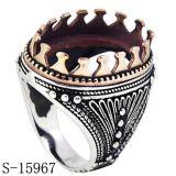 Levering voor doorverkoop 925 van de fabriek Ring Silver&Copper voor de Steen van Withouth van Mensen