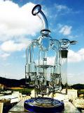 12 Zoll-HöheShowerhead Perc 18mm gemeinsame Glaspfeife