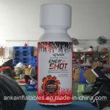 Botella publicitaria inflable práctica hermosa de la medicina