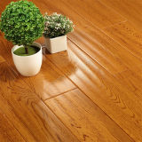 Suelo de madera dura del suelo del roble con el suelo de madera de Handscraped
