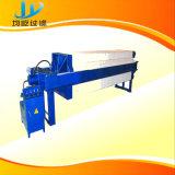 Hohe Leistungsfähigkeits-Raum-Filterpresse-Maschine mit einmaliger Platten-Verschiebung-Einheit