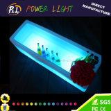 Bar Mobilier en plastique Changement de couleur LED rechargeable Wine Holder