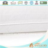 Caso puro de Pilloe del algodón de la venta del protector blanco caliente de la almohadilla