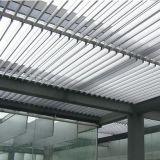 Lumbrera de aluminio de la ventana de la cortina de Sun del sistema de la pared de cortina