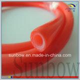 ガラス繊維によって補強される突き出されたシリコーンゴムの管