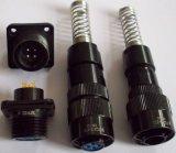 Conetores circulares apertados da água da proteção IP68
