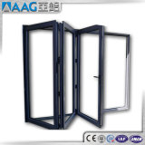Fabrication en aluminium de porte de pliage de bâti en Chine avec As2047
