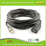 Extensão de cabo USB a USB de alta velocidade com repetidor ativo