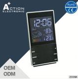 기상대 온도와 습도 Digitale 최대 최소한도 시계