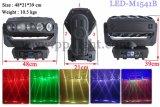 Luz principal móvil sin fin de la viga de la rotación 15PCS 12W