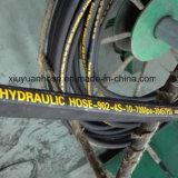 Gewundener Hydrauliköl-Gummischlauchleitung-flexibler Schlauch 902-4s-10