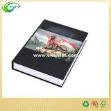 Servicio de impresión modificado para requisitos particulares del libro del libro encuadernado del color de Cmyk (CKT-BK-820)