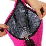 Pequeño bolso congelable del refrigerador del papel de aluminio del almuerzo del totalizador de las muchachas de Packit