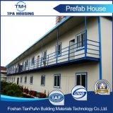 Casa modular moderna pré-fabricada do telhado liso de 2 assoalhos para o campo de trabalho