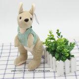 Luxuoso do brinquedo do canguru com t-shirt