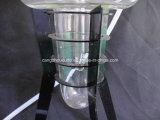 Tabak GlasShisha Huka mit Eisen-Regal